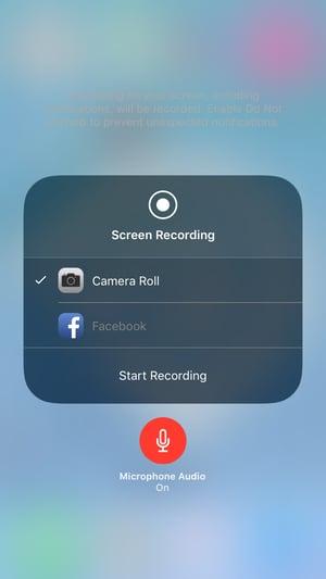 Apple's Screen Recording